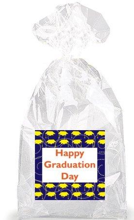 graduation cap wrapping paper - 9