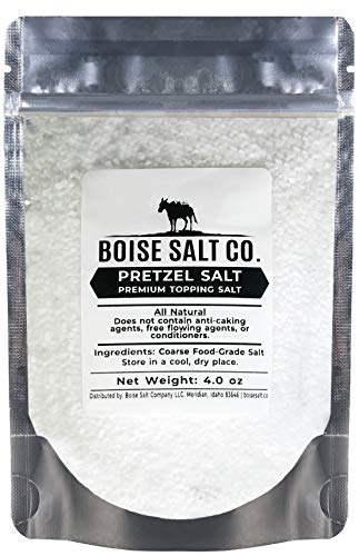 Boise Salt Co. Pretzel Salt - 4 Ounce Resealable Standup Pouch (4 oz)