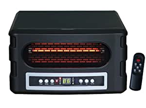 Source Green Heat 750 Square Foot Infrared heater W/Remote