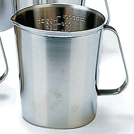 Graduated Measuring Cup, 64 Oz, SS