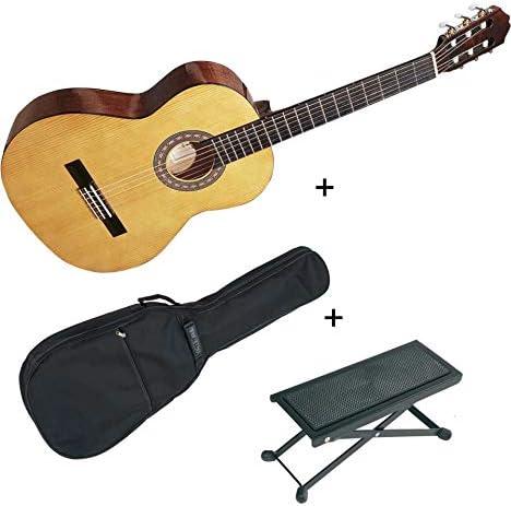Pack Santos y Mayor 9b-2 – Guitarra 1/2 clásica de estudio + funda ...