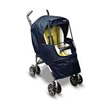 Manito Elegance Alpha Stroller Weather Shield / Rain Cover - Navy