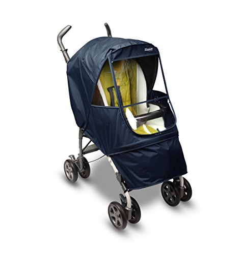 Manito Elegance Alpha Stroller Weather Shield/Rain Cover - Navy