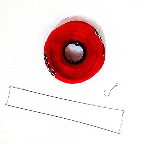 FANCY PUMPKIN Japanese Style Red Hanging Lanterns Sushi Bar Restaurant Decor Interior Design Decorative Supplies, L-09 by FANCY PUMPKIN (Image #4)
