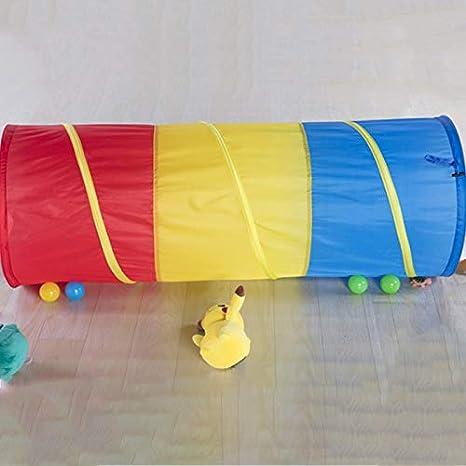 Adanse Jouets pour Enfants Tunnel Rampant Enfants en Plein Air Int/éRieur Jouet Tube Tube Ramper Game Boy Girl Meilleur Cadeau DAnniversaire