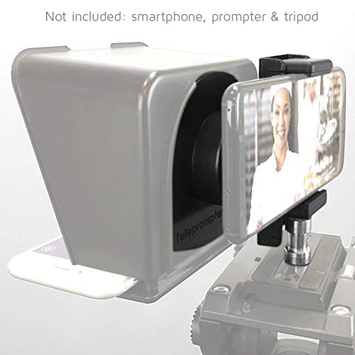 TP-Smartclip Accessory for Parrot teleprompter 1 & 2 [Prompter not Included]. Record Video with Your Smartphone on a Parrot Teleprompter by TELEPROMPTER PAD (Image #2)