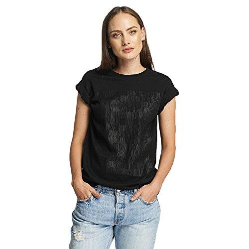 Cyprime Mujeres Ropa superior / Camiseta Holmium Oversized negro