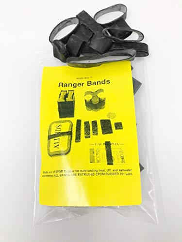 Epdm Rubber Bands - Ranger Bands Mixed 35 Count Made from EPDM Rubber for Survival, Emergency Tinder and Strapping Gear of Various Sizes  Made in the USA NGE61972