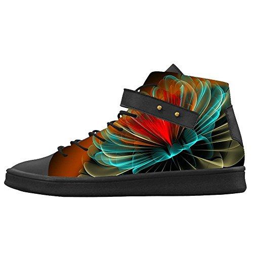 Women's stereoscopica Stampa Scarpe Le 3D Custom Shoes Canvas Scarpe Scarpe Le Le tEwpqqd