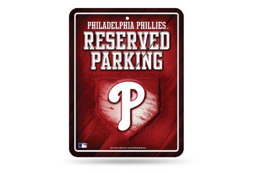 Philadelphia Phillies Parking - MLB Philadelphia Phillies Parking Sign