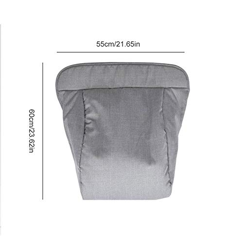 Ladeyi Stroller Accessories pushcart Thickened Foot Cover Baby Foot Cover Baby Stroller Wind-Proof Foot Cover Mother and Baby Products by Ladeyi (Image #2)