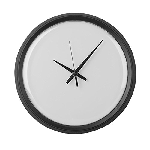 Clock Blank (CafePress - Plain Blank - Large 17
