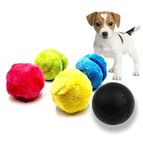 Viet's VT Milo Activation Ball- Magic Ball for Dogs- Automatic Roller Ball,Mini Magic Roller Ball Toy Cleaner Magic Ball Dog Cat Pet Toy Mop Funny Ball (A) (Remote Ball Control)
