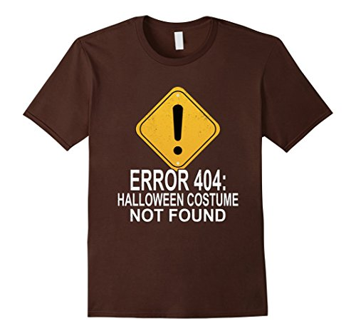 404 Costume Code Error (Mens Funny Error Code 404 Halloween Costume Not Found T Shirt Medium)