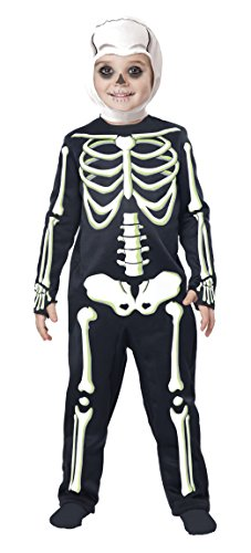 Skeleton Costumes For Toddlers (California Costumes Short Ribs Toddler Costume, Size 4T-6T)