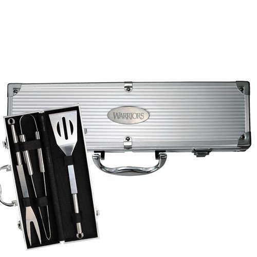 Hendrixグリルマスターバーベキューセット3 ' Warriors Shield Engraved ' B01LW86B9L