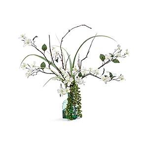 Petals Silk Dogwood Blossoms Arrangement 7