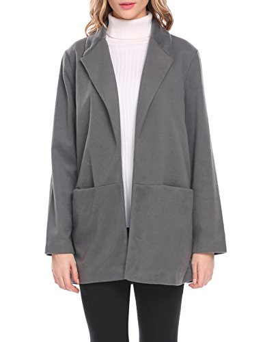 Slant Pockets Wool Coat - 4