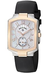 Philip Stein Women's 21TRG-FW-RB Classic Black Rubber Strap Watch
