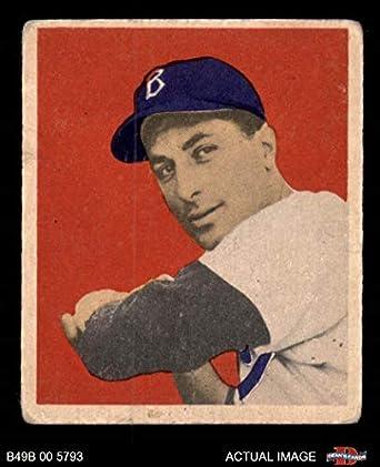 Amazoncom 1949 Bowman 70 Carl Furillo Brooklyn Dodgers