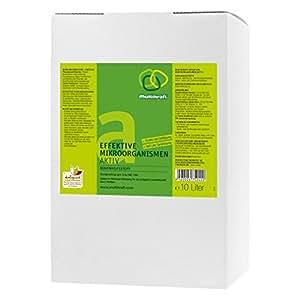 Efectiva microorganismos activo (EM de suelo activo), plástico–Abono–10litros Caja/bag