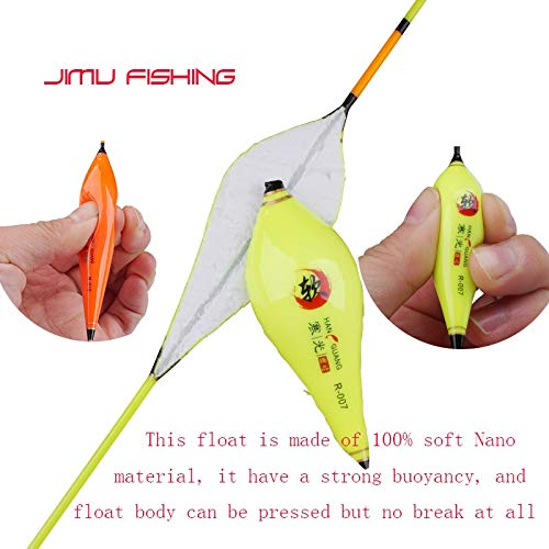 Amazon.com : CUSHY Mutil Color Fihing Flotador oft Nano Material Fihing Float Big Buoyancy Boya Hallow Water Bobber Carp Fihing Acceorie: R-004 : Sports & ...
