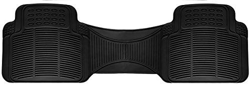 (OxGord All-Weather Rubber Floor Mat Liner - for Autos - Built to Last Black Rear Runner)