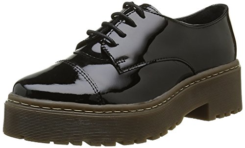 Black Hologram Oxfords Black Shoe Women's Biz Barea qw0gxzR