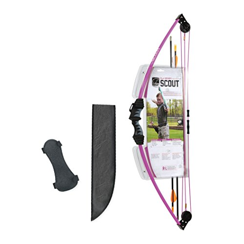 Bear Archery Scout Youth Bow Set – Purple