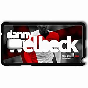 Personalized Samsung Note 4 Cell phone Case/Cover Skin 2013 creative danny welbeck Black