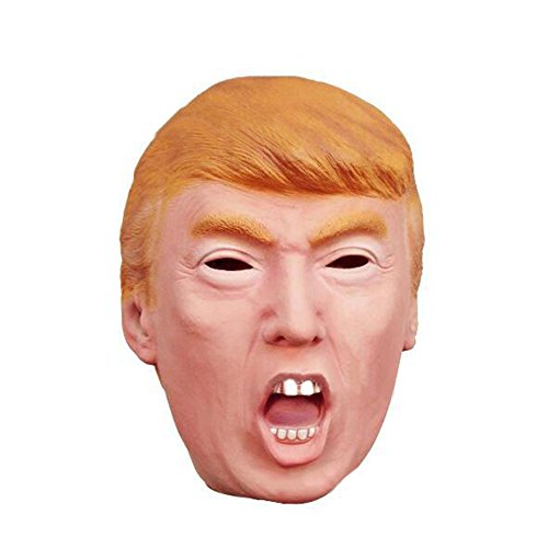 Luckstar Donald Trump Mask - President Mask Celebrity Latex Mask Halloween ()