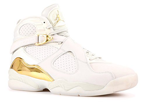 Bianco Bone Light Jordan Blanco da Metallic Gold amp;c Retro Uomo white Air Nike Scarpe C Basket 8 fBqOxUFv