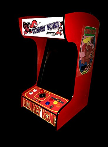 - Retro Arcade Machine with 412 Games -Tabletop/Bartop - All The Classics - Perfect for Man Caves, Bars and Game Rooms! (Red)