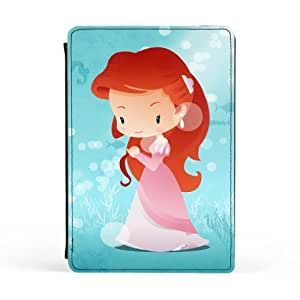 Princesses - Ariel Premium Faux PU Leather Case, Protective Hard Cover Flip Case for Apple? iPad Mini by DevilleArt + FREE Crystal Clear Screen Protector