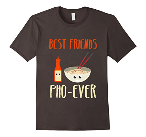 Mens Funny Vietnamese Food T-Shirt Best Friend Pho-Ever Pun Shirt Small - Colors For Asians Best