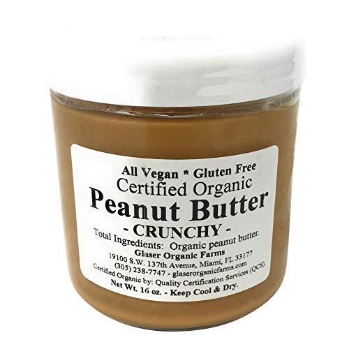 Glaser Organic Farms, Peanut Butter Crunchy, 16 oz