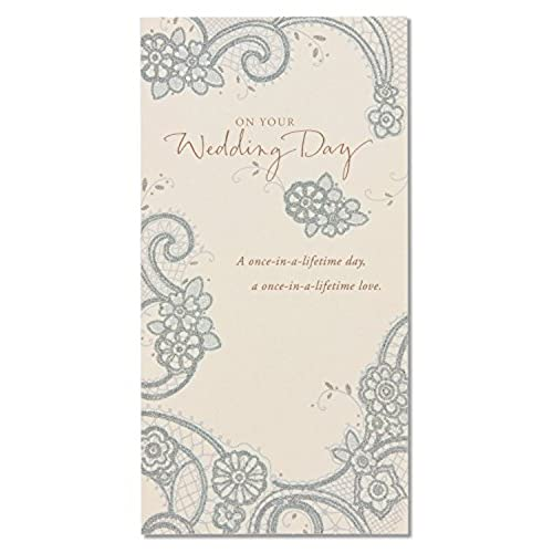 Wedding greeting cards amazon american greetings money holder wedding card with glitter m4hsunfo