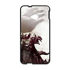 Scary Blood Monster personalized creative custom protective phone case for HTC M7