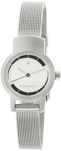 Fastrack Upgrade-Core Analog White Dial Women's Watch -NK2298SM01