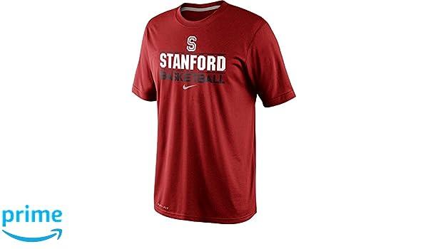 69e459b8823 Amazon.com  NIKE Stanford Cardinal Basketball Team Issue Practice Dri-Fit T- Shirt (XXL
