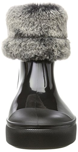 Lemon Jelly Damen Irina Schlupfstiefel Schwarz (Black)