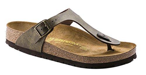 Birkenstock Women's GIzeh Thong Sandal, Golden Brown, 40 M EU/9-9.5 B(M) US