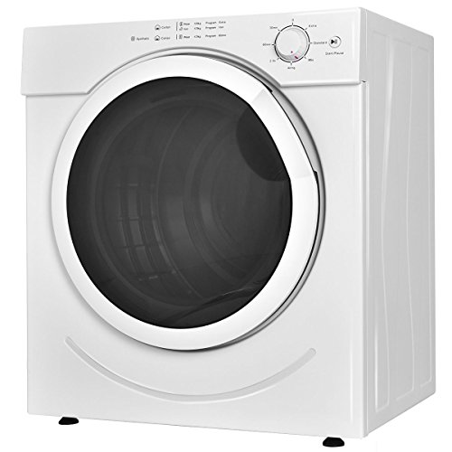 Smallest Clothes Dryer ~ Costway electric tumble dryer clothes laundry