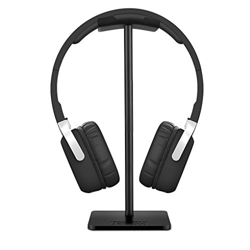 Tralntion Headset Holder Headphone Stand Mount Earphone Supporting Bar Base Earset Earbud Hanger - Cable Earset