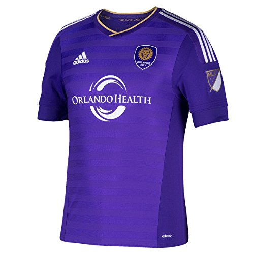 171ee3c5e0146 outlet Orlando City SC Adidas MLS Men s Authentic On-Field Climalite S S  Jersey