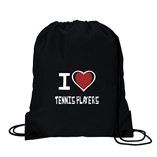 I love Tennis Player Sport Tasche