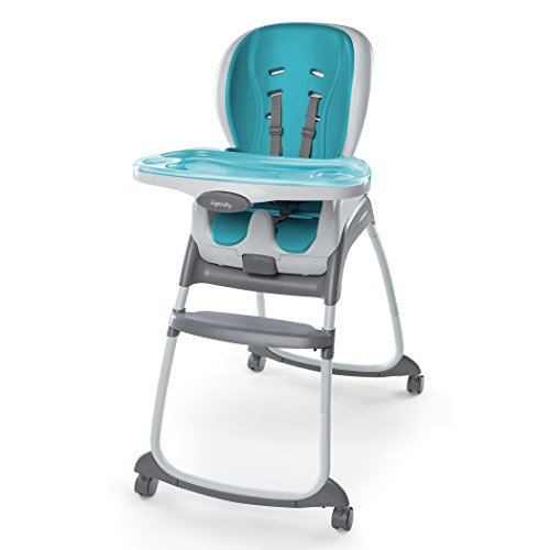 Sale!! Ingenuity SmartClean Trio 3-in-1 High Chair, Aqua