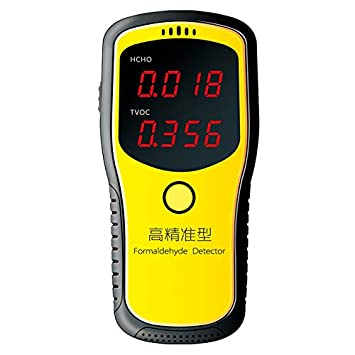 Coomir Detector portátil de la Calidad del Aire del formaldehído del Detector de la Calidad del Aire del Equipo de la detección del formaldehído: Amazon.es: ...
