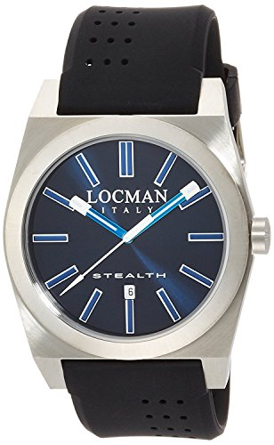 LOCMAN watch stealth classic Quartz Men's 0201 020100BKFBW1SIK Men's [regular imported goods]