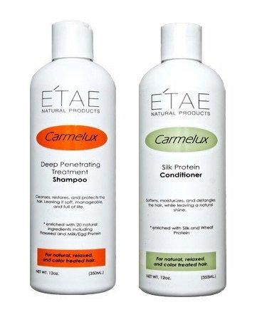 E'TAE Natural Products - Carmelux Shampoo 12oz and
